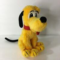 "Vintage Disney Japan Pluto Dog Plush 12"""