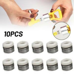 10x Joints Pointe for sans Air Peinture Spray-Nozzle Plus Embouts Outil Pièces