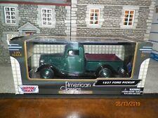 "1/24  DIECAST MOTORMAX  "" 1937 FORD PICKUP ""  NEW IN BOX"