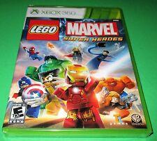 LEGO Marvel Super Heroes Microsoft Xbox 360 *Factory Sealed! *Free Shipping!
