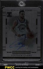 2017 Panini Impeccable Stainless Stars Stephen Curry ROOKIE RC AUTO #SS-SC