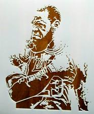 LeBron James Stencil Reusable 10 mil Mylar NBA MVP, Lakers, Basketball, Father