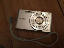 Sony Cyber-shot DSC-W830 20.1 MP Digital Camera - Silver