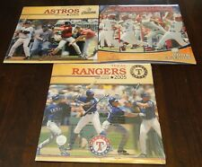Sport Calendars Team - 2005-2006 - 3 Teams Astros Cardinals Rangers Baseball NEW