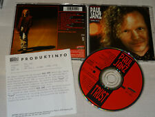 PAUL JANZ - TRUST / ALBUM-CD 1992 & PROMO-FACTS