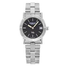 Raymond Weil W1 Steel Black Dial Quartz Ladies Watch 3000S-BI-SD2