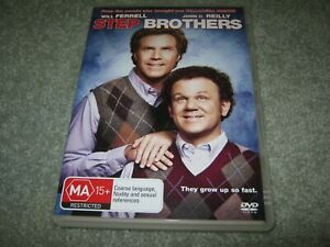Step Brothers - Will Ferrell - VGC - DVD - R4
