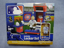 New Chicago Cubs KRIS BRYANT Buildable Lego MLB Locker Room Set 98 Pieces VHTF!