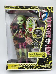 Monster High Venus McFlytrap Doll Original First Wave NIB