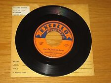 "BLUES 45 RPM - LONESOME SUNDOWN - EXCELLO 2174 - ""LEARN TO TREAT ME BETTER"""