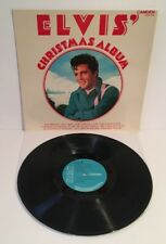 ELVIS' CHRISTMAS ALBUM 1974 VINYL EX/EX+ Pro Cleaned and Play Tested