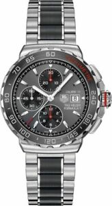 ORIGINAL TAG HEUER FORMULA 1 CAU2011.BA0873 AUTO CHRONO CALIBRE 16 CERAMIC WATCH