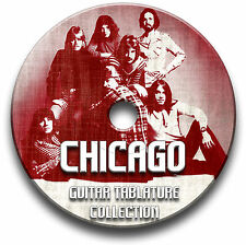 CHICAGO ROCK GUITAR TAB TABLATURE SONG BOOK SOFTWARE CD