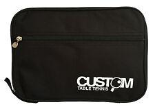 Custom Table Tennis Elite Double Bat Wallet Black New