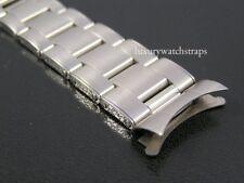 SUPERB STAINLESS STEEL OYSTER RIVET BRACELET FOR ROLEX SUBMARINER WATCH 20mm