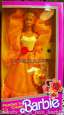 Peaches 'n Cream Classic Barbie Doll N and ~ Nice Box Yellow Window