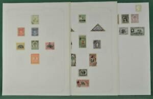 LIBERIA STAMPS ON 13 PAGES  (Y22)
