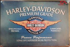 HARLEY Vintage Tin Bar Sign, Motorcycle Sign, Great for man cave or bar HDMO