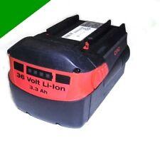 Original Hilti Akku  B 36  Li  36 Volt  Li-Ion  3,3 Ah. 3300 mAh