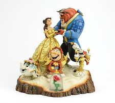 Disney Traditions Tale As Old Time Beauty The Beast Resin Figurine Ornament