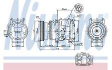 NISSENS Compresor aire acondicionado 89098