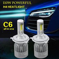 2pcs H4 9003 HB2 Car led Headlight kit 12V 110W 6500K Cold white Hi/Lo Wholesale