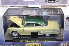 OLDSMOBILE 98 1953 CREAM GREEN 1:64 M2 MACHINES 32500 R39 NEW AUTO-THENTICS