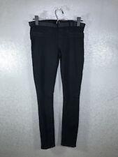Helmut Lang Women's Size 26 Wash Black Stretch Waist Jeggings Skinny Jeans