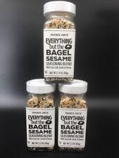 *3 Pack* Trader Joe's Everything But the Bagel Sesame Seasoning Blend BRAND NEW