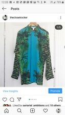Versace x HM crocodile jungle shirt! M NWT