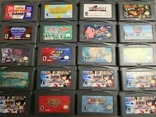Nintendo Game Boy Advance Gba Games Pick & Choose Over 250 Available Cart Only