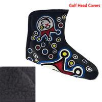 Joker Golf Head Cover Blade Putter Insane Clown Club Headcovers PU LeatherMA-g