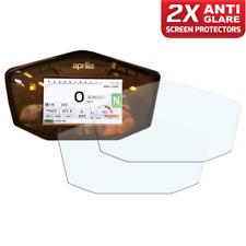 2 x APRILIA TUONO  V4 1100 2017+ Dashboard Screen Protector: Anti-Glare