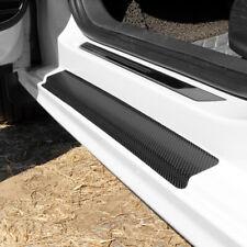 4pcs Car Stickers Carbon Fiber Door Sill Protector Scuff Plate Trim Accessories Fits Studebaker