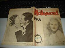 Cine Folleto Rare Hollywood 1944 - Ediciones M. O. L. L. E. F. U. R. Roma Muy