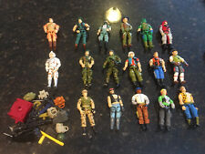 GI JOE FIGURES LOT WITH ACCESSORIES