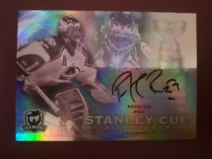 **FREE SHIPPING** 2009-10 UD The Cup Stanley Cup Signatures Patrick Roy 42/50!!