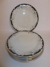 6 x Crown Ming Jian Shiang Fine China Side Tea Cake Plates Michelle Lovely