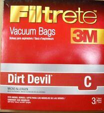 Filtrete Vacuum Bags Dirt Devil C #981982