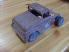 press steel toys, '59  TONKA TOYS CAB AND FRAME FOR PARTS OR RESTORATION