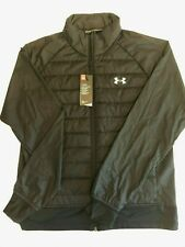 Under Armour New Run Insulate Hybrid Jacket Men's Large 1355807 MSRP $100