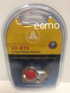JL AUDIO XD-BTS ULTRA COMPACT POSITIVE/NEGATIVE BATTERY POST TERMINAL CLAMP