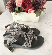 Chaco Womens Hiking Waterproof 2Z Grey Sandals Size 8