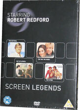 Robert Redford Screen Legends Film Collection Out Of Africa etc Boxset 4 DVD