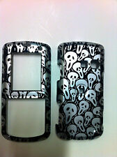 LG BANTER AX265/UX265 BLACK AND SILVER SCREAMING FACES PROTECTOR COVER NEW