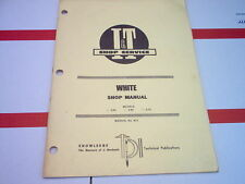 2-55 2-65 2-75 White Tractor I&T Shop Service Manual