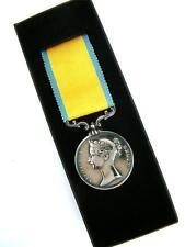 BRITISH MILITARY ROYAL NAVY MARINES BALTIC MEDAL RUSSIAN WARS CRIMEA BOXED