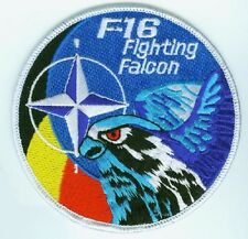FIGHTING FALCON F-16 FIGHTER SWIRL PATCH COLLECTIONS: NATO Generic F-16 SWIRL