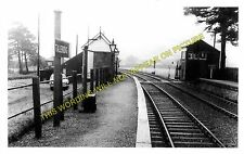Talerddig Railway Station Photo. Carno - Cemmes Road. Machynlleth Line. (3)