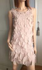 A / Wear Blush / Beige Shift Dress Size 14 - Was £49.99